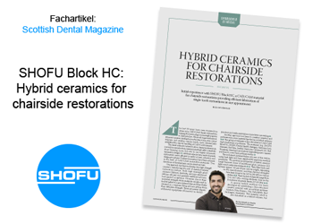 SHOFU Block HC: Hybrid ceramics for chairside restorations