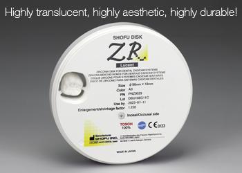SHOFU Disk ZR Lucent